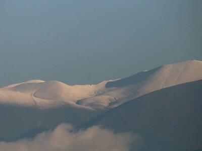 Όλυμπος: Εντυπωσιακά χιονισμένο το βουνό των Θεών