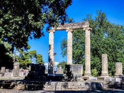 Αρχαία Ολυμπία: Κάλεσμα ειρήνης στους δη...