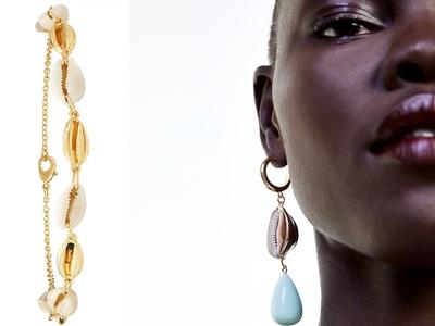 Κοχύλια στα κοσμήματα, τα φορούν γύρω μας όλες οι νέες κοπέλες
