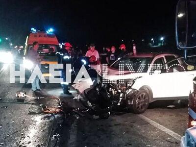 Τρεις τραυματίες σε σοβαρό τροχαίο στην ...