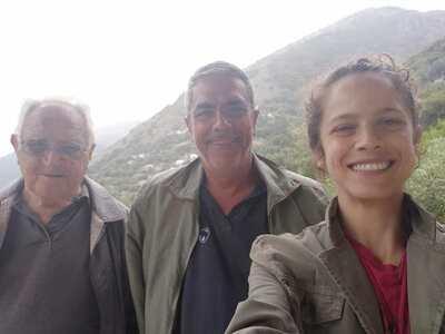 Διακοπές με τον μπαμπά και τον παππού γι...