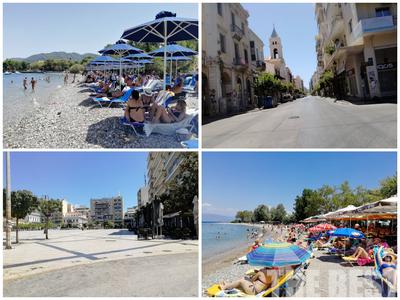 """Πόλη-""""φάντασμα"""" η Πάτρα... πήγαν όλοι στις παραλίες- ΦΩΤΟ"""