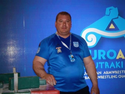 Καλή εμφάνιση του Γιώργου Χαραλαμπόπουλου στο πανευρωπαϊκό πρωτάθλημα χειροπάλης