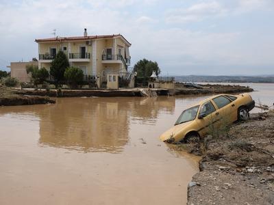 Meteo: Η «Θάλεια» έριξε 300 χιλιοστά βρο...