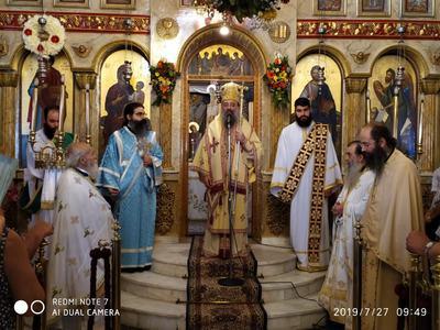 ΔΕΙΤΕ ΦΩΤΟ από τον εορτασμό του Αγίου Παντελεήμονα στο Προάστιο