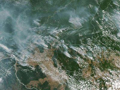 Ο πνεύμονας του πλανήτη στις φλόγες