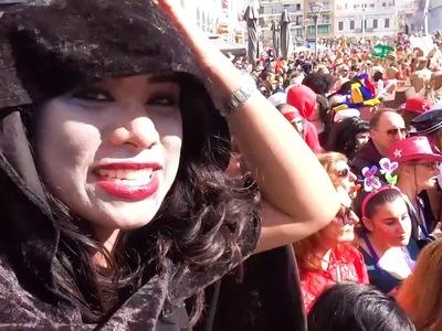 Τι είδε η vlogger Lil Krizan στο καρναβάλι της Πάτρας;  ΒΙΝΤΕΟ