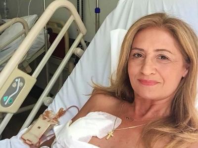 Μαρία Πολύζου: «Νιώθω ότι πάω για καφέ και όχι για χημειοθεραπεία»