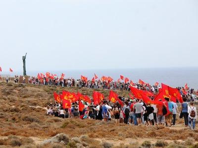 Μνημεία του ΚΚΕ σε Γυάρο και Μακρόνησο