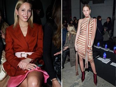 Πολύ «busy» η Mαρία Ολυμπία: Διαρκώς front row στην Εβδομάδα Μόδας της Νέας Υόρκης