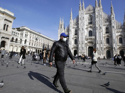 Ιταλία-Κορωνοϊός: 20.884 νεά κρούσματα κ...