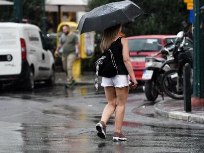 Στην Αχαΐα η κακοκαιρία - Βροχή στην Πάτ...
