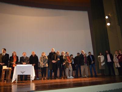Ο Δήμος Αιγιαλείας έκοψε την Πρωτοχρονιάτικη πίτα του στο Αίγιο