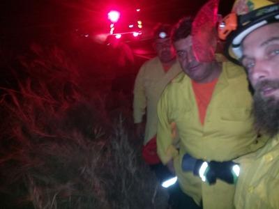 56 τουλάχιστον εθελοντές στην πυρκαγιά στα Συχαινά
