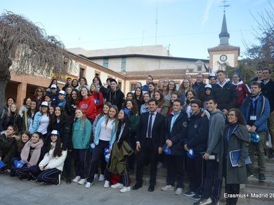 Λύκειο Βραχναιίκων: Επίσκεψη στην Μαδρίτη για το πρόγραμμα Erasmus+