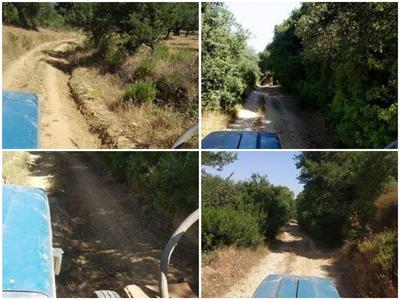 Αδιάβατοι οι αγροτικοί δρόμοι στη Δυτική Αχαΐα ακόμα και για τα πυροσβεστικά –ΦΩΤΟ