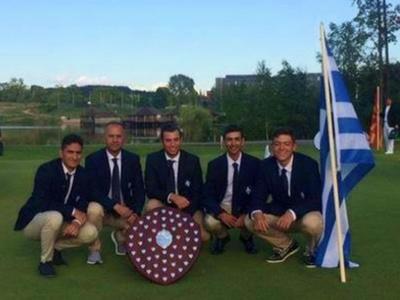 Πρωταθλήτρια Ευρώπης η Εθνική ομάδα γκολφ