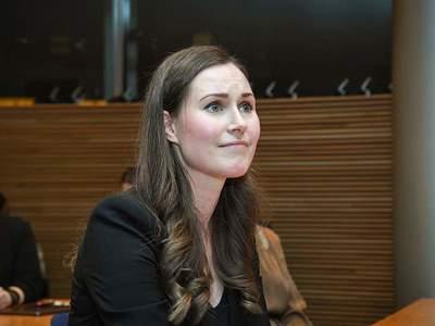 Η 34χρονη νέα Πρωθυπουργός της Φινλανδία...