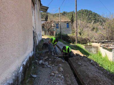 Αιγιάλεια: Αντικαταστάθηκε το δίκτυο ύδρευσης στην Παρασκευή