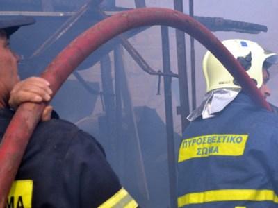 Τραγωδία στην Πάτρα- Ένας νεκρός από φωτιά μέσα στο σπίτι του