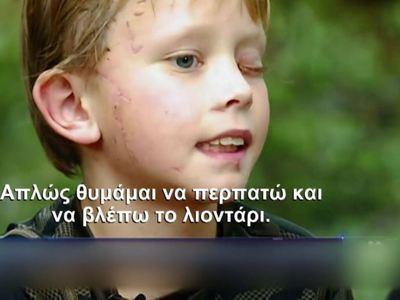 Λιοντάρι επιτέθηκε σε 8χρονο- BINTEO