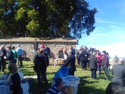 Ξεχωριστή η εκδήλωση στο γραφικό εκκλησάκι του Αγ. Αθανασίου στη Δροσιά Τριταίας
