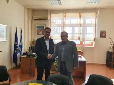Συνάντηση Κώστα Μάρκου με τους Δήμαρχους Ερυμάνθου και Δυτικής Αχαΐας