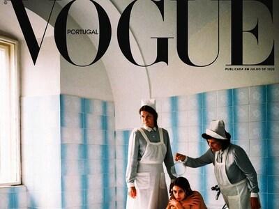 Η  Vogue αποσύρει το εξώφυλλο του «Τεύχο...