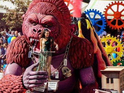 Έχασε την ψυχραιμία της η πρόεδρος του καρναβαλιού προσπαθώντας να δικαιολογήσει τα αδικαιολόγητα