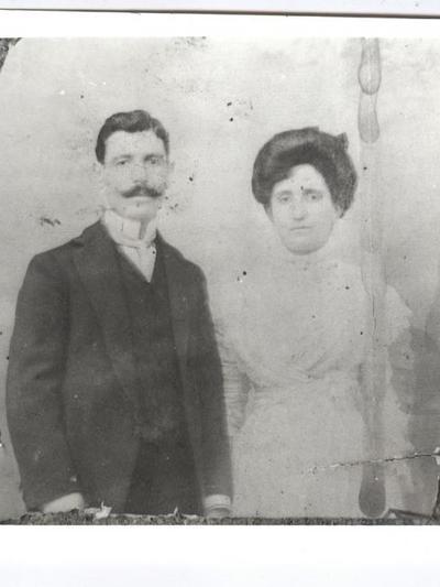 Ο Δημήτρης Κατσικόπουλος με τη σύζυγό του Εύχαρη