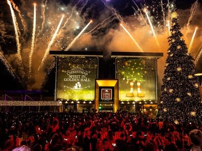 Στολίστηκε το Golden Hall: γιορτή με Φουρέιρα υπέρ του Make-A-Wish