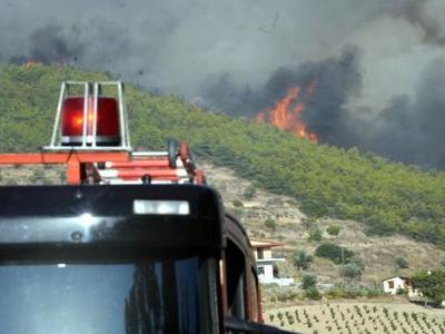 Πύρινη κόλαση στην Αττική - Τραυματίες δύο πυροσβέστες - Κάηκαν σπίτια - Εκκενώθηκε Γηροκομείο - Βίντεο