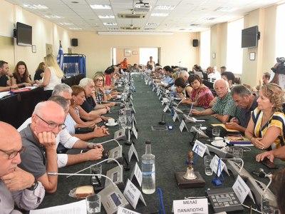 Δημοτικά τέλη και τεχνικό πρόγραμμα σήμερα στο Δημοτικό Συμβούλιο Πάτρας