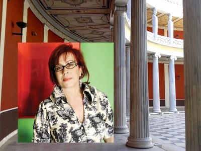 Η πατρινή γκαλερίστα Αγγελική Αντωνοπούλου στην Art Athina 13-16 /9 στο Ζάππειο