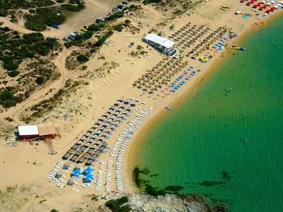 Αμμόλοφοι, μια ...must παραλία