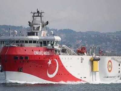 Oruc Reis: Πόλεμος νεύρων από την Τουρκί...