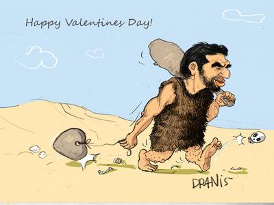 Η ημέρα του Αγίου Βαλεντίνου με το πενάκι του Dranis
