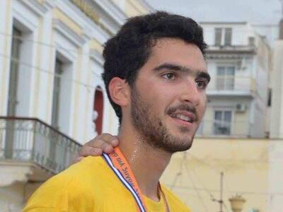 Ο Σπύρος Ιατρόπουλος στο πρωτάθλημα ημιμαραθωνίου