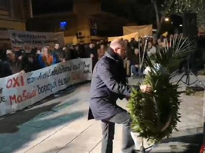 Ο Τάκης Παπαδόπουλος εκπροσώπησε τον Περιφερειάρχη στις εκδηλώσεις μνήμης για τον Νίκο Τεμπονέρα