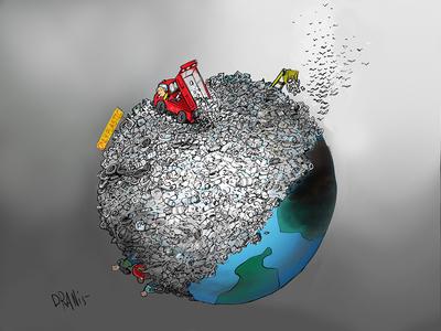 Το πλαστικό πνίγει τον πλανήτη, με το πενάκι του Dranis