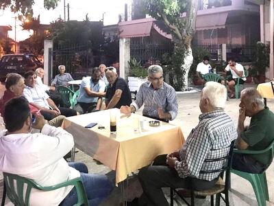 Ο Άγγελος Τσιγκρής επισκέφθηκε χωριά της Δυτικής Αχαΐας – ΔΕΙΤΕ ΦΩΤΟ