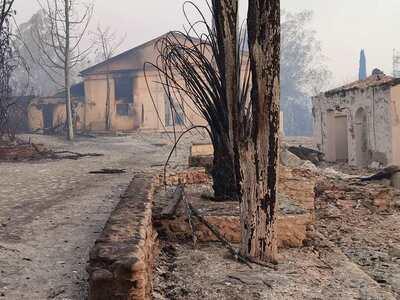 Φωτιά στην Ζήρια: Βοήθεια στους πυρόπληκ...