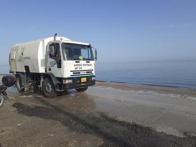 Δήμος Πατρέων: Εργασίες καθαριότητας στη...