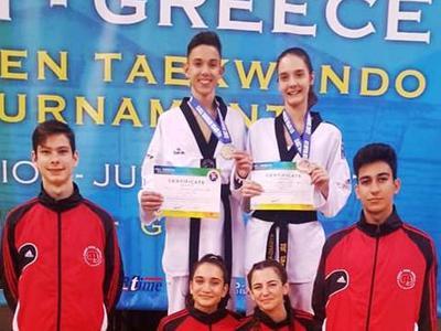Fight Club Patras: Ένα χρυσό και δύο χάλκινα στο παγκόσμιο τουρνουά G1 – Greece Open