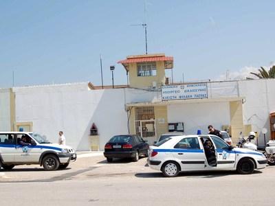 Έφοδος αστυνομικών σε κελιά των φυλακών Πάτρας- ΒΙΝΤΕΟ