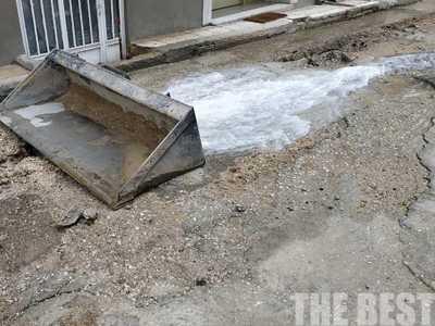 """""""Ποτάμι"""" έτρεχε το νερό στην Αγίου Αρτεμίου στην Πάτρα - ΦΩΤΟ"""