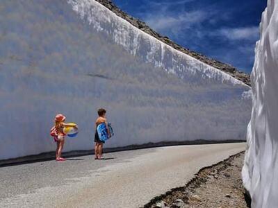 Κρήτη: «Μπαμπά, νομίζω ότι κάναμε κάποιο λάθος! Δε βλέπουμε την παραλία...»