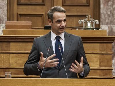 """Κυρ. Μητσοτάκης: """"Καμία σύνταξη Έλληνα πολίτη δεν πρόκειται να ξαναμειωθεί"""""""
