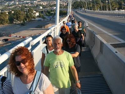Ο Σύλλογος Προστασίας Περιβάλλοντος περπάτησε τη Γέφυρα Ρίου-Αντιρρίου