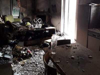 Μπεγουλάκι: Το βραχυκύκλωμα στην πρίζα, κατέστρεψε το μισό σπίτι